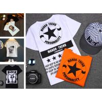 童装童t恤3夏季韩版男女童短袖t恤5纯棉打底衫7地摊童装厂家直销
