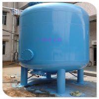 清又清厂家供应 A3碳钢大流量中水回用砂滤设备 工业中水回用Q235碳钢过滤罐
