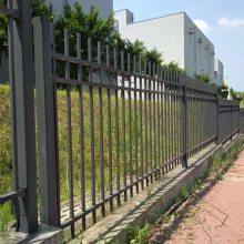 社区社区防护栅栏现货 搅拌站铁艺护栏 深圳学校隔离栏