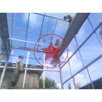 一亩地玻璃连栋生态温室造价?青州瀚洋温室