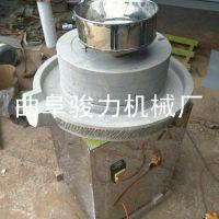 现磨现卖 商用电动米浆石磨豆浆机 花生酱芝麻酱机 豆制品石磨机 骏力畅销
