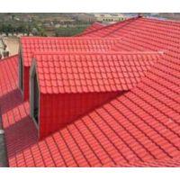 厂家直销 小区洋房合成树脂瓦 防腐蚀波纹塑料瓦 别墅屋顶琉璃瓦