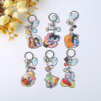 定制金属创意动漫钥匙扣 滴胶卡通钥匙扣挂件 节日促销活动礼品