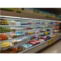 定做水果保鲜风幕柜,立式冷藏展示柜,超市冷藏风幕保鲜柜