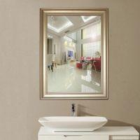欧美现代浴室镜子 批发浴室镜子挂镜 加工定制ps发泡欧式镜框