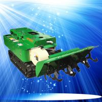 国产时风柴油机履带式回填机富兴厂家 旋耕机小型自走施肥机