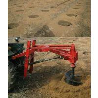 解放劳动力机械化挖坑机 直径超一米大型挖坑机 功能强力钻眼打洞机