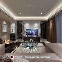 御龙天峰装修案例|天古装饰设计师李世川作品|现代风格