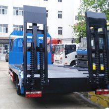 解放J6挖机拖车生产厂家240挖机平板运输车4.0L排量