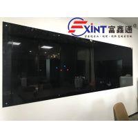 从化课堂黑板挂式F粉笔大黑板壁挂X梅江磁性玻璃黑板墙