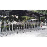 双层立体停车库 地铁口自行车停车架 智能停车设备