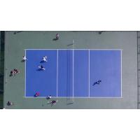 专业丙烯酸球场 弹性丙烯酸网球场-给你专业的运动体验【广西三杰体育】