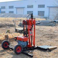 厂家直销HR-50山地钻机 取芯勘探小型钻探机 轻型钻探设备