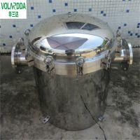 南宁上林DN150不锈钢篮式过滤器 立式除污器 毛发聚集器华兰达厂家直销