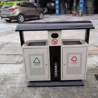 四川城市道路环卫垃圾箱 环保果皮箱 青蓝工厂直销