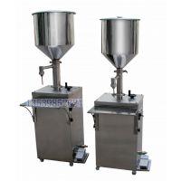 供应立式灌装机, 瓶装日化半自动罐机 常压液体脚踩罐装机