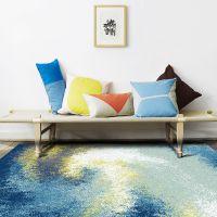 供应【2017新款】1.6X2.3米 超柔纤维 混纺 高档欧式简约风格 无甲醛环保地毯