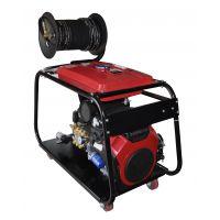瑞洁恒通销售500型汽油机驱动高压管道疏通机 正品直销售后有保障