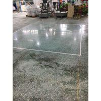 东莞茶山水磨石地面起灰尘怎么处理+旧地坪抛光+水磨石镜面处理施工