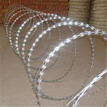 螺旋式刀片刺绳 螺旋刀片刺网 刺绳生产