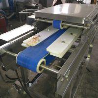 汇康生产鸡蛋干切片机 鸡脯肉分片机 连续式切片机