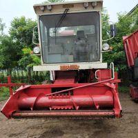 大型自走式优质玉米秸秆青储机苜蓿草青储粉碎机 铡草机