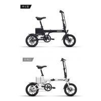 msebike 14英寸拆叠电动自行车迷你型电动车便携小型电瓶车超轻