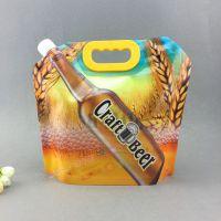 液体包装袋定做 5KG啤酒塑料袋 扎啤精酿啤酒包装袋子