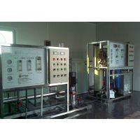 食品厂500L/H小型纯净水设备,二级反渗透设备
