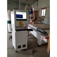 橱柜自动排版软件 全屋定制板式家具四工序开料机四头木工雕刻机