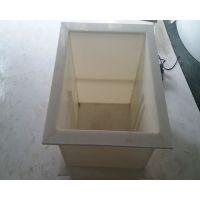 成都定做PP电解槽聚丙烯过滤槽塑料焊接卡槽化工槽 立创厂家