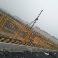 河南三门峡厂家现货供应泥浆池临边防护栏、建筑工地临时护栏、基坑护拦
