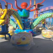 儿童公园游乐设备大章鱼30人新型游乐场设备批发