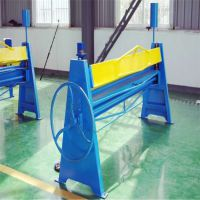 地鑫手动折边机 1.3米手动折弯机 人工操作 简单实用