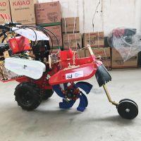 延津县小型封葱机 启航手扶自走式硬土开沟机 低矮大棚松土机哪里有卖