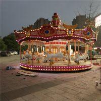 大型豪华旋转木马 儿童公园商场游乐园游乐设备