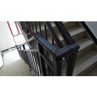 开封克来丁靠墙扶手,开封组装楼梯护栏,HC仿木纹楼梯扶手,Q235锌合金围栏