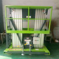 供应铝合金双柱升降机,高空作业平台