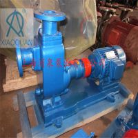 上海消泉泵业直销 80ZX60-40自吸式清水离心泵 卧式电动抽水泵 农用灌溉 抗旱泄洪