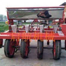山东省高粱谷子小粒种子播种机 启航拖拉机带玉米播种机 多功能蔬菜精播机价格