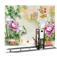 HZ-2050墙面壁画数码喷绘机内外墙面定制彩绘机家装工装户外墙面打印机
