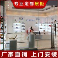 承接各种 鞋子展示架设计 商场鞋子展柜制作 皮鞋展示柜台定制