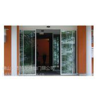 东莞麻涌松下自动门规格 遥控感应玻璃门安装18027235186