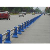 成都市政道路护栏 机非隔离栏 马路不锈钢复合管隔离栏杆
