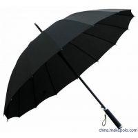 供应高档自动长柄伞 安全式开关直杆伞广告雨伞制作厂家 上海伞厂