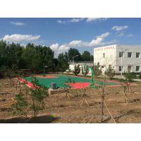 长沙室外篮球场施工配套设施全包价 篮球是健康的休闲体育娱乐活动