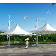 全国上门包安装室外膜结构雨棚停车棚公园景观棚