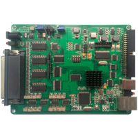 高精度以太网+USB2.0据采集卡 16位64路AD-8路DA-16路DI-16路DO
