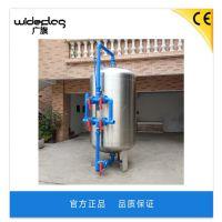 机械过滤器器 大流量过滤耐腐蚀水处理机械过滤器 广旗直销可按规格定制