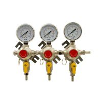 卡罗福啤酒机器设备酿家用 二级调压阀三连体-(堵头+三通接头)